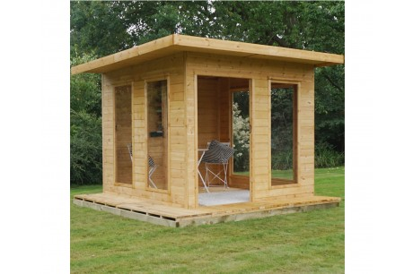 Mercia 10ft x 10ft Tongue and Groove Cube Summerhouse