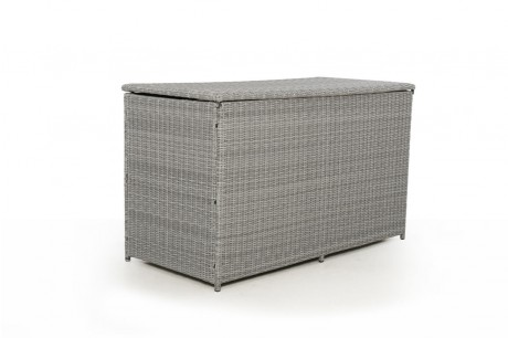 Maze Rattan Ascot Cushions Storage Box Closed