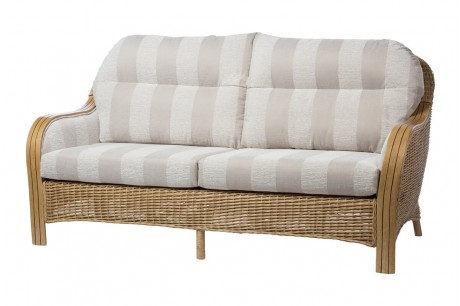 Desser Centurion Conservatory 3 Seater Sofa in Oatmeal