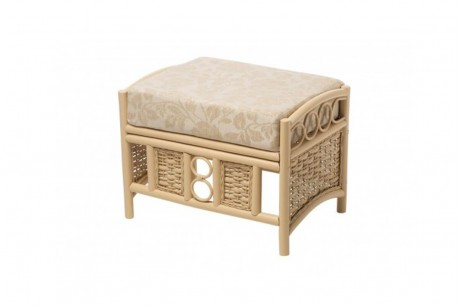Desser Chelsea Conservatory Footstool in Emily