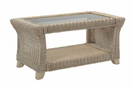 Desser Clifton Coffee Table White Up
