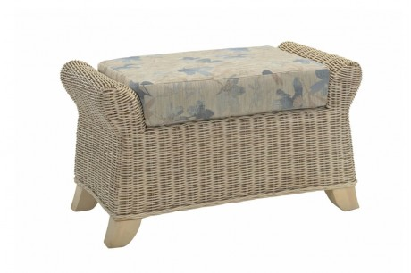 Desser Clifton Footstool in Oasis