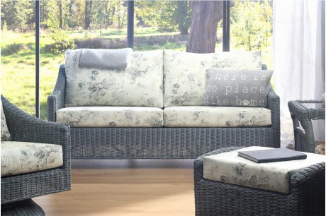 Desser Dijon Greywash 3 Seater Sofa in Dove