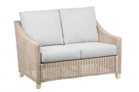 Desser Dijon 2 Seater Conservatory Sofa in Pebble