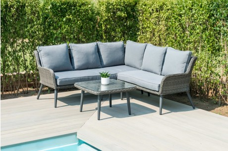 Maze Rattan Florence Garden Furniture Set With a Coffee Table