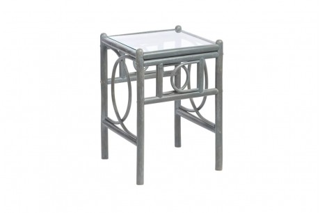 Desser Madrid Greywash Conservatory Lamp Table