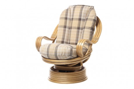 Desser Opera Conservatory Swivel Rocker Chair in Highland
