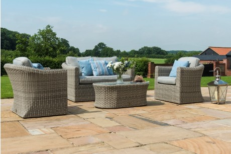 Maze Rattan Oxford 2 Piece Garden Sofa Set - Image 1