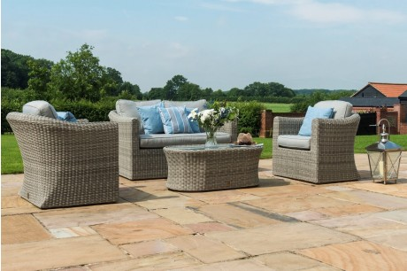 Maze Rattan Oxford 2 Seat Garden Sofa Set