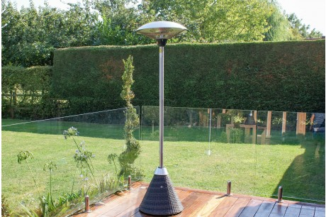 Maze Rattan - Tall Patio Heater