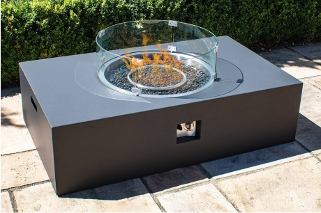 Maze Lounge - Rectangular Gas Fire Pit