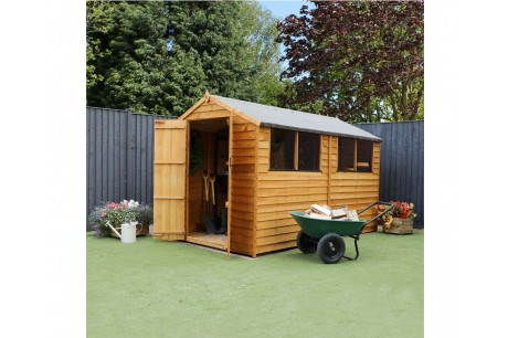 Mercia 10x6ft Overlap Traditional Apex Wooden Shed