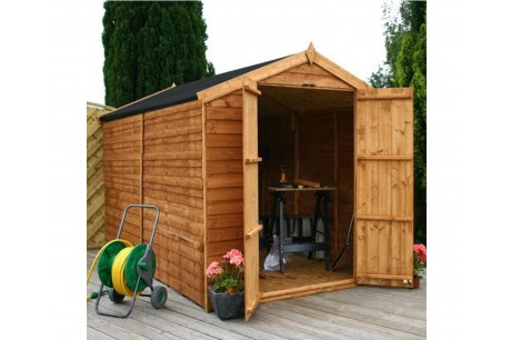 Mercia 10x6ft Overlap Timber Apex Windowless Shed