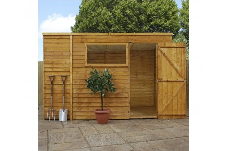 Mercia Wooden Overlap Pent Shed 10x6ft