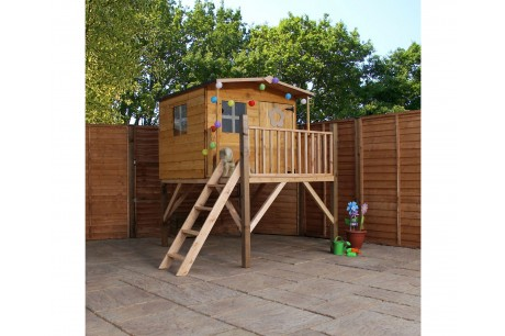 Mercia Rose 5x5ft Wooden Tower Playhouse