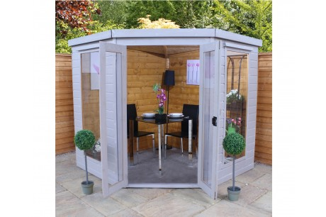 Mercia 7ft x 7ft Corner Summerhouse