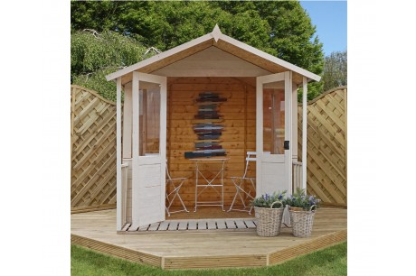 Mercia 7ft x 7ft Traditional Shiplap Summerhouse