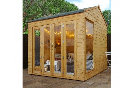 Mercia 8ft x 8ft Vermont Wooden Summerhouse
