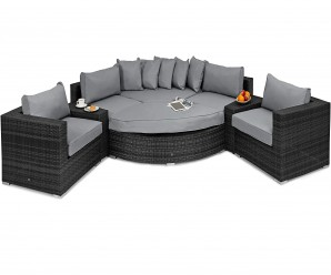 outdoor luxury barcelona corner sofa set