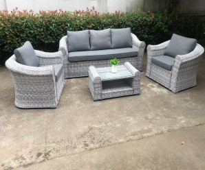 Cambridge Deluxe 3 Seat Garden Sofa Set