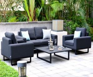 Ethos 2 Seat Outdoor Fabric Garden Sofa Set