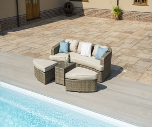 Maze Rattan Tuscany Toronto Garden Furniture Daybed