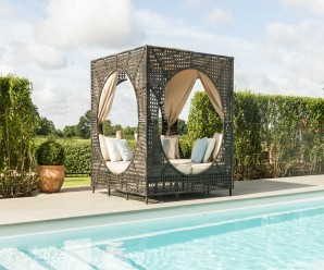 Maze Rattan Bali Outdoor Furniture Daybed