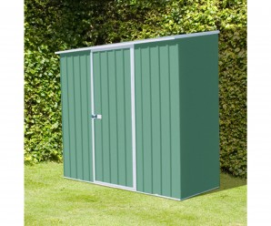 Mercia Absco Compact Green Metal Shed - 2.26m x 1.52m