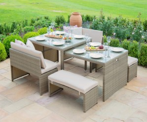 Maze Rattan Lyon Garden Furniture Set