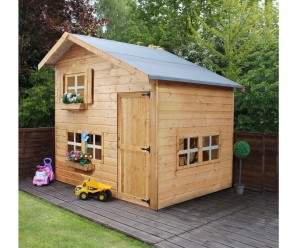 Mercia 8x6ft Double Storey Bramble Children's Playhouse