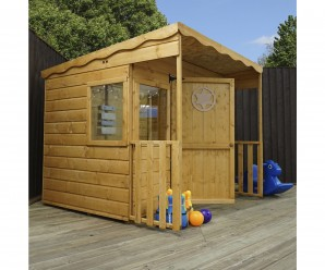 Mercia Pent Sheriff Wooden Playhouse
