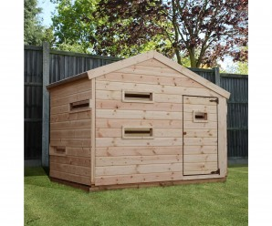 Mercia 7x5ft Children's Hideaway Wooden Playhouse