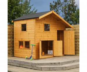 Mercia Double Storey Garage Children's Playhouse