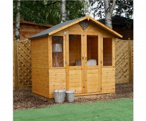 Mercia 7ft x 5ft Traditional Shiplap Summerhouse