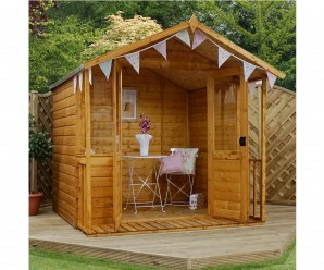 Mercia 7ft x 8ft Bournemouth Traditional Shiplap Summerhouse