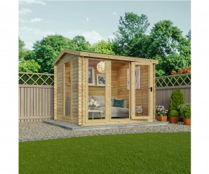 Mercia 3x2.5m New Kielder 19mm Timber Log Cabin