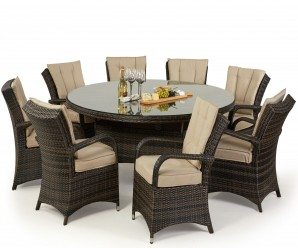 8 Seat texas Round Dining Set