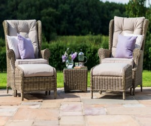 Maze Rattan - Winchester High Back Lounge Set