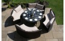 Maze Rattan Dallas Sofa Dining Set