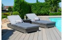 Maze Rattan NEW Victoria Sun Lounger Set