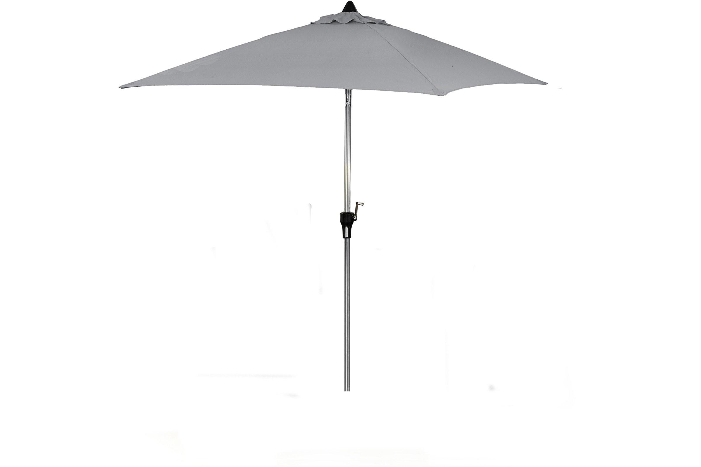 Rattan Fairy Garden Furniture 2m Square Parasol Rattan
